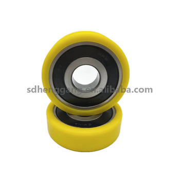 high quality Plastic covered ball bearing