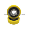 High performance plastic bearing used to door and window